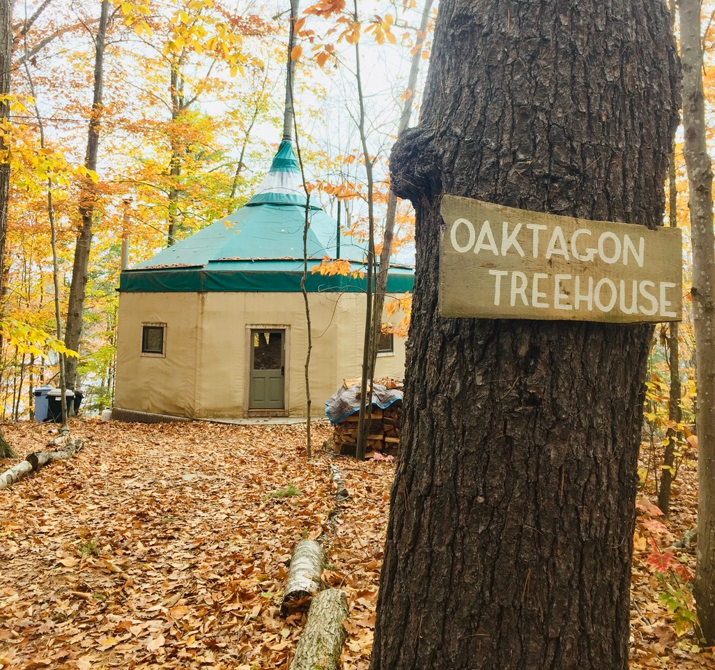 View of the Oaktagon Exterior!